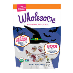 Wholesome Organic Halloween Lollipops - 210g