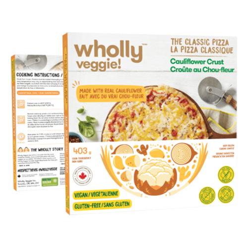Wholly Veggie Classic Cheeze Pizza - 393g