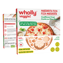 Wholly Veggie Margherita Pizza - 443g