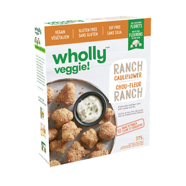 Wholly Veggie Ranch Cauliflower Wings - 375g