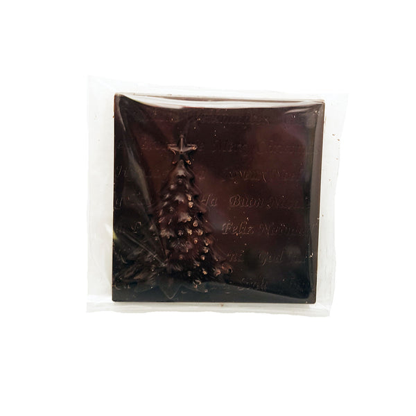 Wild Mountain Christmas Tree Dark Chocolate Squares - 43g