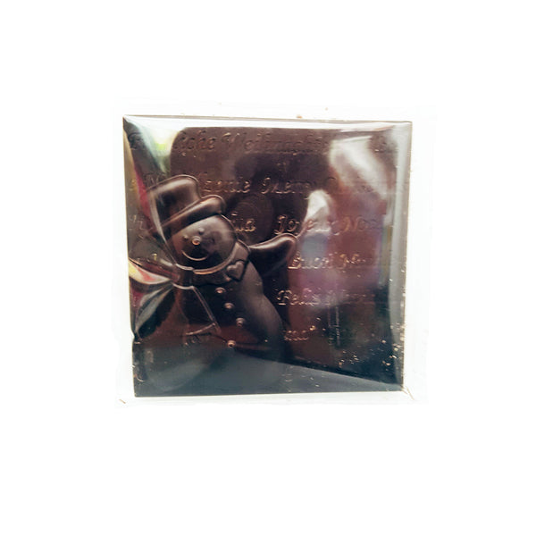 Wild Mountain Snowman Dark Chocolate Squares - 43g