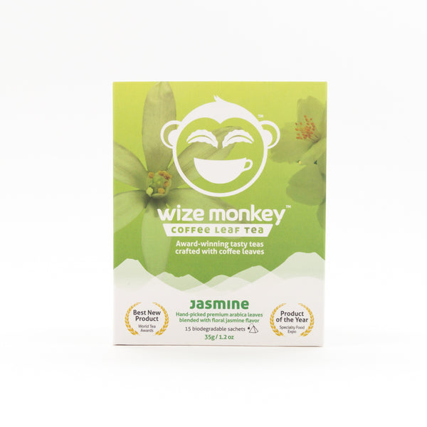 Wize Monkey Jasmine Coffee Leaf Tea - 35g