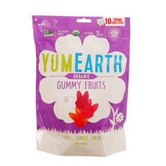 YumEarth Organic Easter Gummy Fruits Bunnies - 10x 17g
