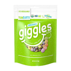 YumEarth Organic Sour Giggles Chewy Candy Bites - 142g