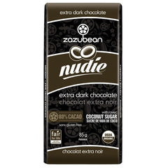 Zazubean Nudie Chocolate - 85g