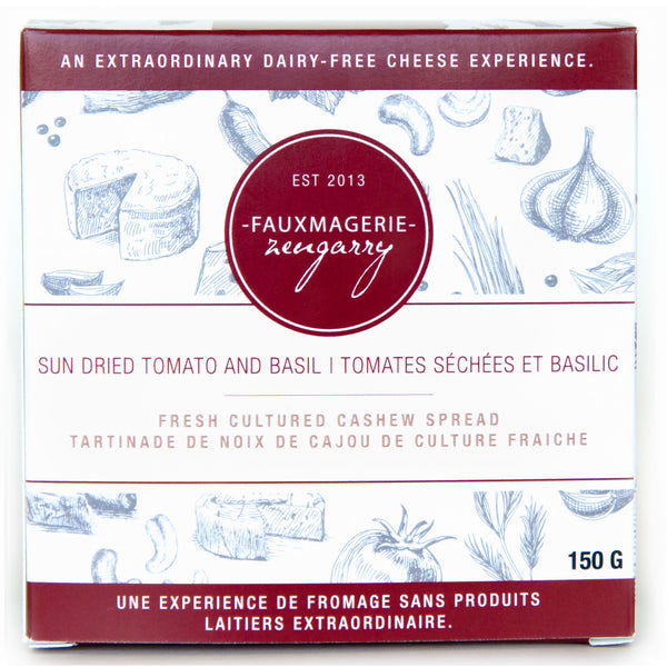 Zengarry Sun Dried Tomato and Basil Cheese - 150g
