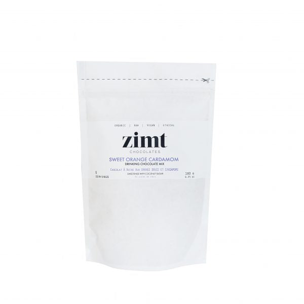 Zimt Sweet Orange Cardamom Drinking Chocolate - 180g