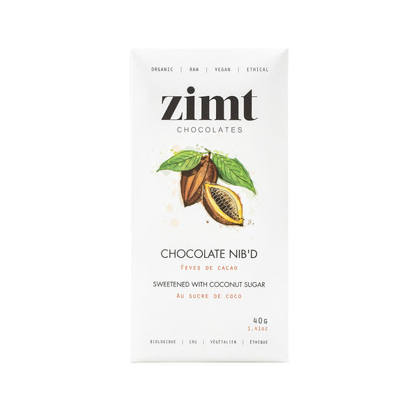 Zimt Chocolate Nib'd - 40g