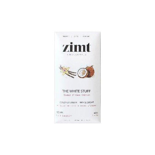 Zimt The White Stuff White Chocolate Bar - 40g
