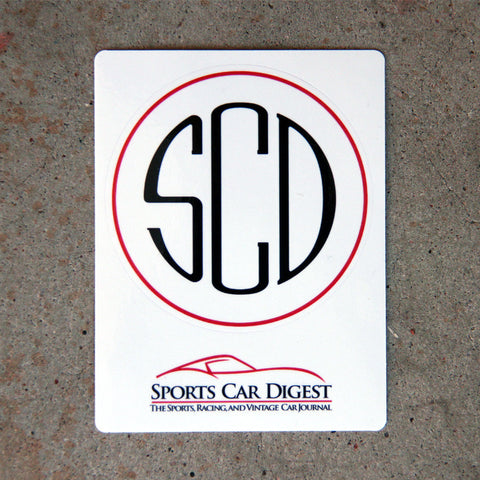 "The ""SCD"" Decal"
