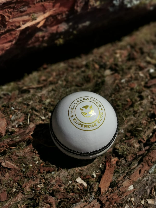 Senior White Supreme Elite Cricket Ball