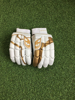 Fifty/50 Custom Gold Gloves Small Mens RH