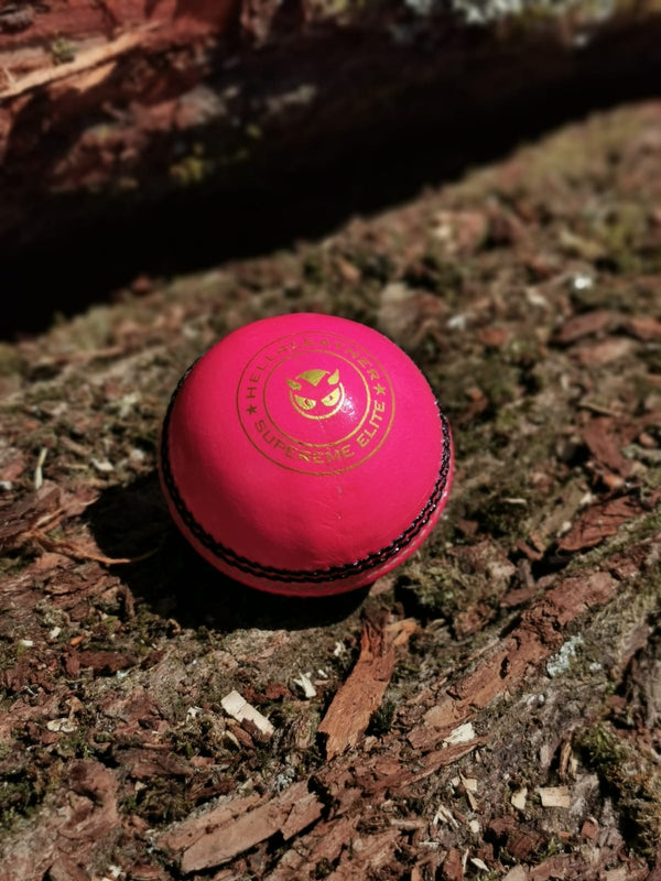 Senior Pink Supreme Elite Cricket Ball