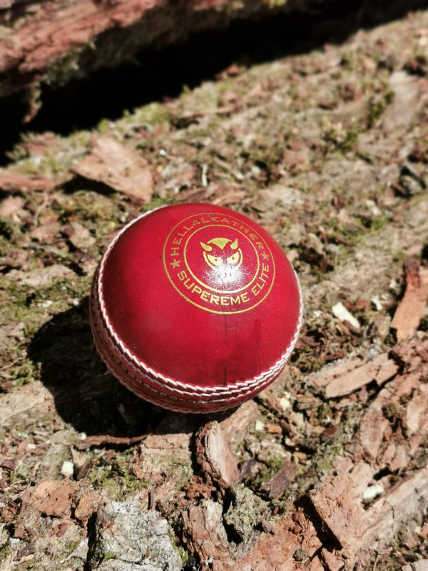 Junior Red Supreme Elite Cricket Ball