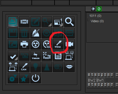 examine Pro setting for prodent camera