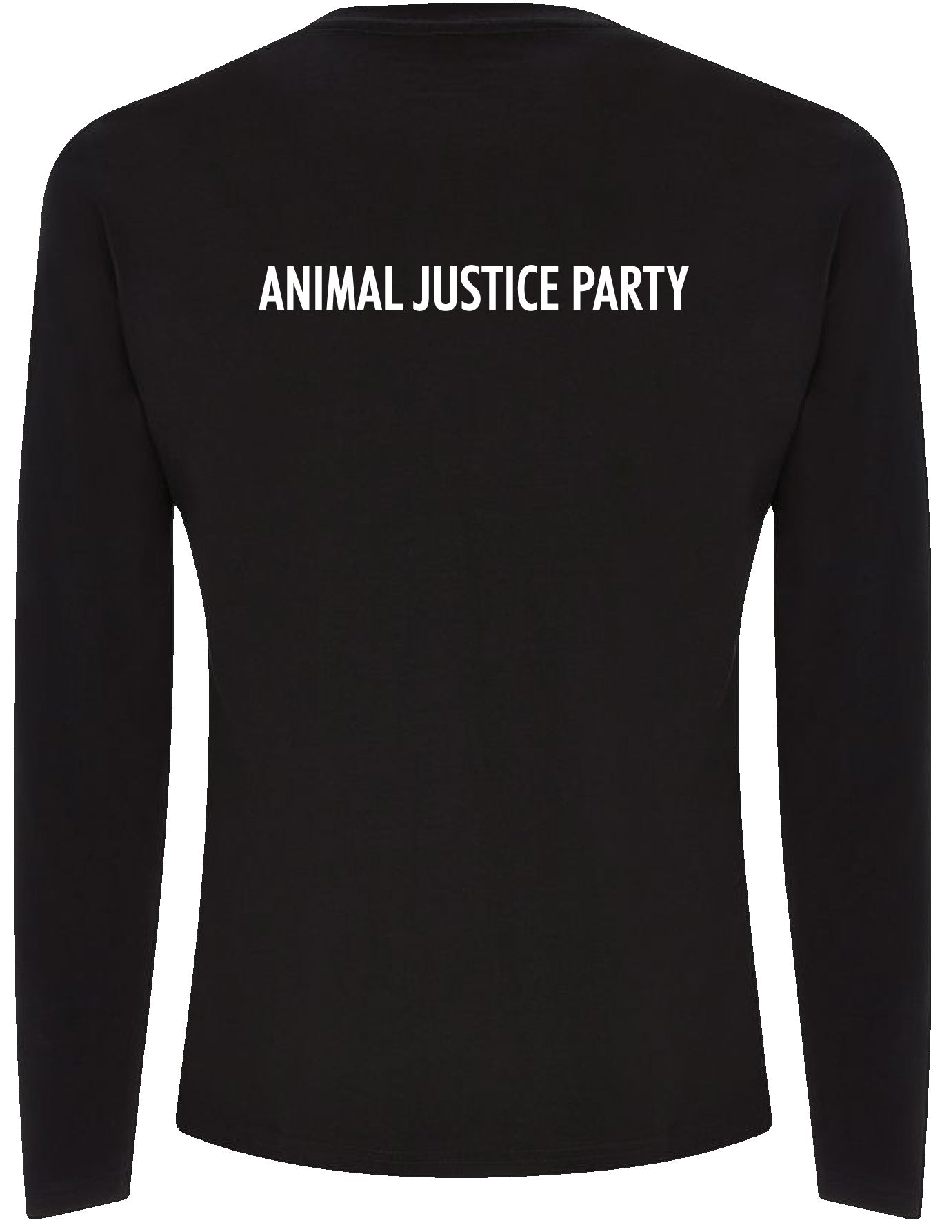 NEW! Men's Long Sleeve T-Shirt - Black