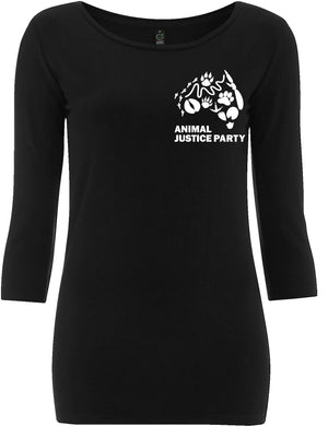 NEW! Women's 3/4 Sleeve Stretch T-Shirt