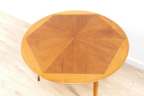 Stunning Mid Century Vintage Teak Swedish Starburst Coffee Table /671