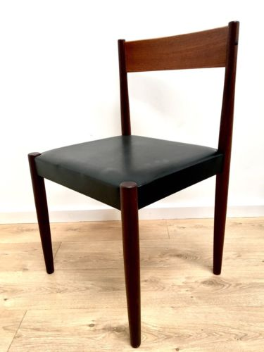 Mid Century Danish Teak Dining Chairs By Frem Rojle Set Of 4
