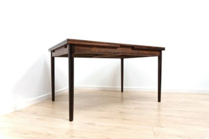 Stunning Mid Century Vintage Danish Rosewood Extending Dining Table 1374
