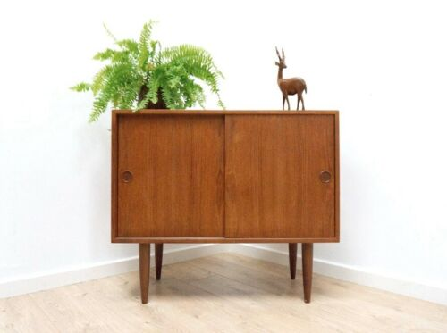 Mid Century Danish F M Mobler Teak Small Sideboard Storage Unit /1119