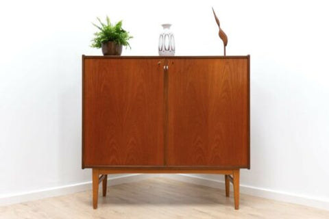 Mid Century Vintage Swedish Teak Ulferts Sideboard Cupboard Storage Unit /625