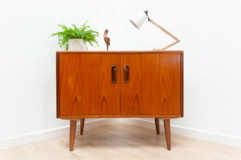 Mid Century G Plan Fresco Vintage Teak TV Media Storage Unit /1276