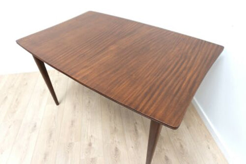 Midcentury Richard Hornby Heals Dining Table Vintage Teak Extending /1453