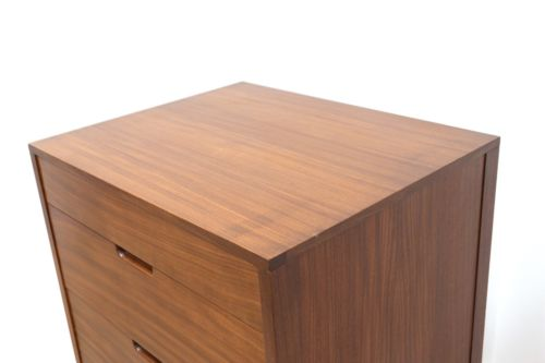 Mid Century Vintage Teak Richard Hornby Tallboy Heals Chest of Drawers 1950's