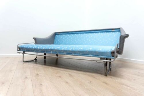Superb Mid Century Vintage Teak Danish Modernist Sofa Bed Settee 1960's /631