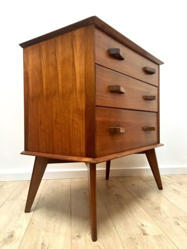 Mid Century Vintage Teak G Plan Brandon E Gomme Chest Of Drawers Courier