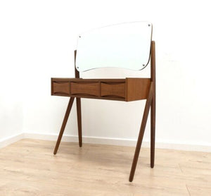 Mid Century Arne Vodder Danish Vintage Teak Dressing Table Vanity 1950's /1347