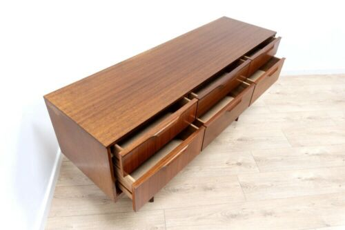 Superb Mid Century Austinsuite Vintage Teak Small Sideboard Drawers /709