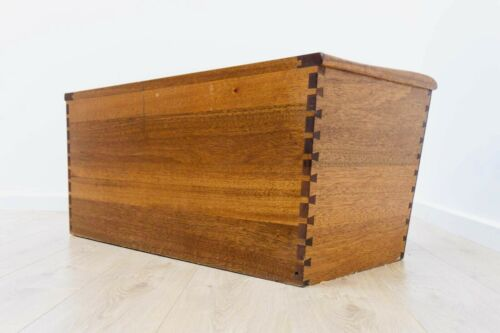 Stunning Mid Century Vintage Danish Oak Blanket Chest Bedding Box 1950's /571