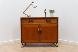 Antique Furniture Retro Mid Century G Plan Scandinavian TV Media Unit Bedside Table Hairpin Legs Chests of Drawers