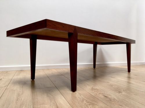 Rare Mid Century Danish Rosewood Coffee Table By Severin Hansen For Haslev