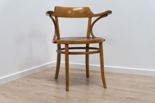 Superb Mid Century Bentwood Occasional Desk Chair Thonet Style