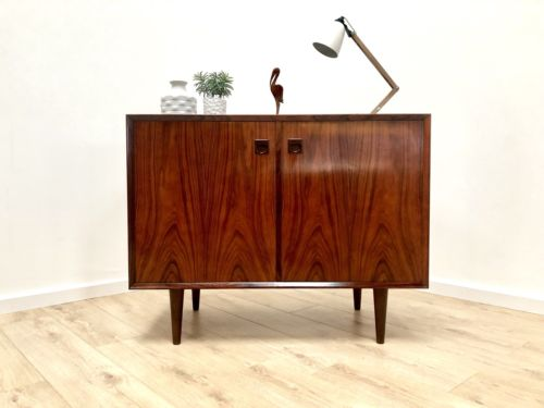 Superb Mid Century Danish Vintage Brauer Rosewood Sideboard Console Storage