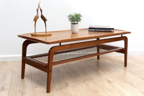 Mid Century Danish Teak Coffee Table Arne Hovmand Olsen For Mogens Kold
