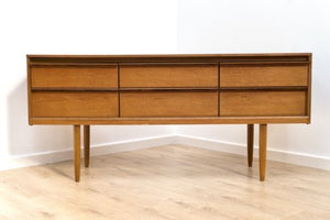 Mid Century Vintage Retro Teak Austinsuite Sideboard with Drawers 1960's