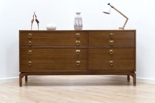 Mid Century Vintage Teak G Plan E Gomme Chest Of Drawers Sideboard