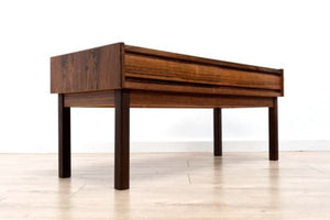 Stunning Mid Century Danish Rosewood Console Unit With Drawers /446