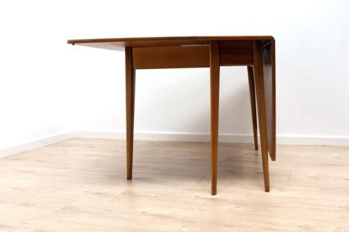 Mid 20th Century Teak Drop Leaf Dining Table by Sutcliffe of Todmordon /127