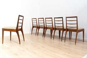 Superb Set Of 6 Mid Century Vintage Teak A H Mcintosh Dining Chairs 1960's /134