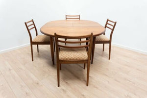 Mid Century Vintage G Plan Teak Extending Dining Table & Chairs /902