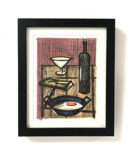 Original Mid Century Vintage Bernard Buffet Framed Colour Lithograph /995