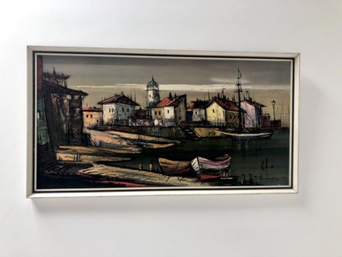 1960's Vintage Retro Framed Print on Board of ' Martiques' by Trimpert