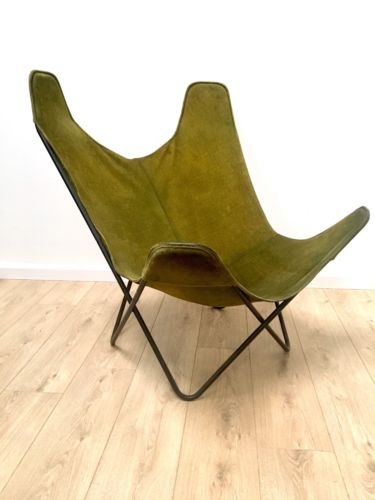 Mid Century Vintage Knoll Butterfly Sling Chair By Jorge Ferrari Hardhoy 1960's