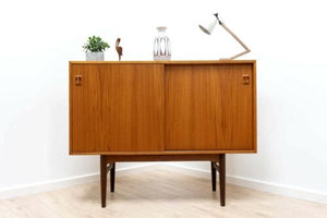 Superb Mid Century Vintage Teak Danish Sideboard Console Storage Unit /608